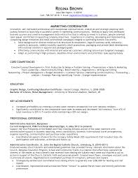 Marketing Coordinator Resume Samples Resume For Your Job Application