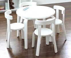 image of modern kids table white