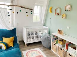 mint green in nursery and kids rooms