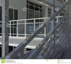 Architektur Treppenhaus Und Fenster Stockbild Bild Von Haus