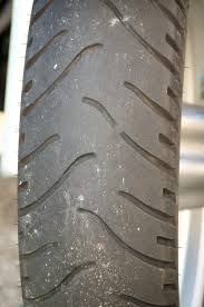 The Basics Motorcycle Safety Tire Wear Bars The Bikers Garage