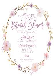 Bridal Shower Bachelorette Invites