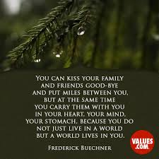 You Can Kiss Your Family And Friends Good Bye And Put Miles Between