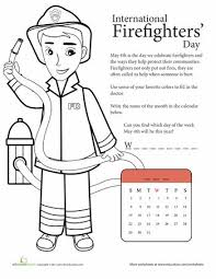 Fire Trucks and Firefighters at EnchantedLearning likewise  furthermore Firefighter Coloring Pages   Printables   Education further Activity Fireman Coloring Pages   Work  Coloring Printables moreover 29 best Fire Safety images on Pinterest   Fire safety week likewise Fire Safety Coloring Pages Dollar Deal   Fire prevention  Fire further Fire Safety Videos for Kindergarten   Simply Kinder moreover  in addition  in addition Best 25  Fire safety crafts ideas on Pinterest   Safety week  Fire together with Make a Paper Doll Firefighter   Worksheet   Education. on firefighter worksheet for first grade