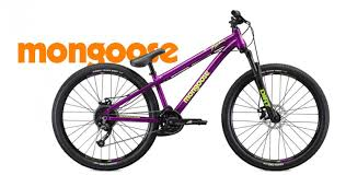 Mongoose Fireball Purple Dirt Jump Bike 2019 Dirt And Jump Bike