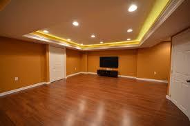 exclusive laminate flooring in basement