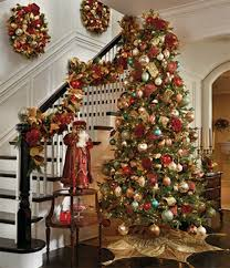 Christmas- the only reason I want a staircase in my home!!! Bebe
