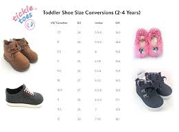 Tttoddler Shoe Size Chart Tickle Toes