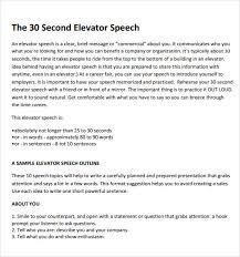 speech essay persuasive speech outline template samplespeech 12 informative speech outline template letter format for sample elevator speech 7 documents in pdf