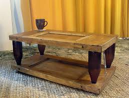 Green Coffee Tables Ten Green Coffee Table From Reclaimed Timber And Glass Bottles