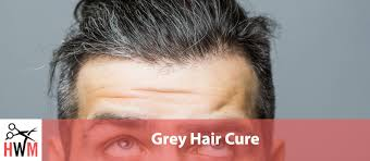 grey hair cure what causes it and how