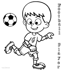 Small Picture Printable Football Player Coloring Pages For Kids Cool2bKids
