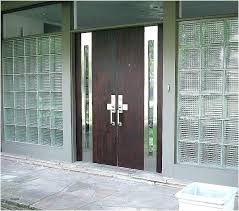 modern front doors with glass effectively ilrative type