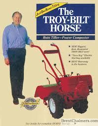 1984 troy bilt brochure roto tiller power composter 8 pages
