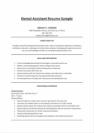 Dentist Resume Canada Inspirational Dental Resumes Virtren
