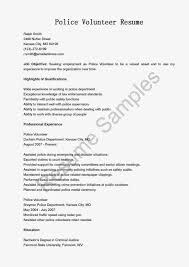 Volunteer Resume Sample Volunteer Resume Geminifmtk 17