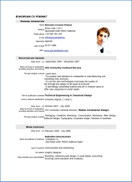 Blank Professional Resume Templates Sampleresumeformats Throughout