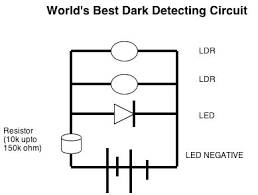 world s best dark light sensor no npn pnp or ic 4 steps dark sensor circuit