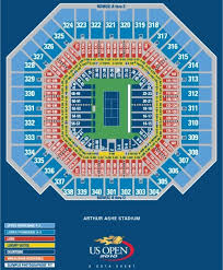 Arthur Ashe Stadium Us Open Seating Chart Map Us Open Flushing Meadows Aale Myddns Flir Com