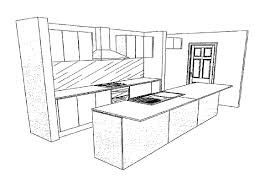 simple kitchen drawing. Perfect Kitchen Simple Kitchen Drawing Ideas 610187 Design  Dceezcom With Pinterest