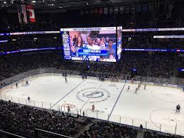 Amalie Arena Section 314 Tampa Bay Lightning