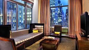 Manhattan Accommodations  W New YorkLiving Room W Hotel Nyc