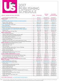Print Media Kit Editorial Calendar Us Weekly