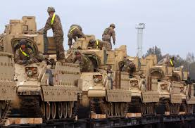 Us Army Cavalry U S To Place 150 Armed Vehicles In Europe Time