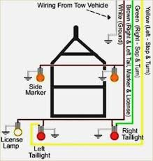 flat 4 wire trailer light wiring diagram wire center \u2022 4 Pin Trailer Wiring Diagram 4 pin trailer light wiring diagram aquariumwalls org rh aquariumwalls org 4 blade trailer wiring diagram four wire trailer wiring diagram