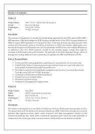 Sql Programmer Sample Resume Amazing Oracle Resume Engneeuforicco
