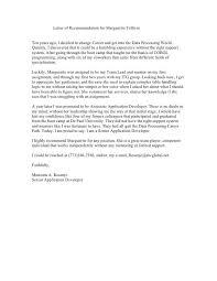 Sample Recommendation Letter Coworker Magdalene Project Org