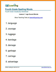 5+ 4th grade spelling worksheets   math cover