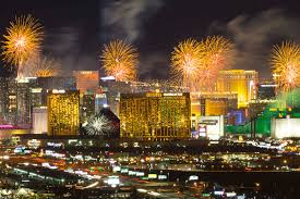 2019 breezes in with Las Vegas New Year