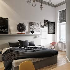 Schlafzimmerwand mit holztextur bringt einen natürlichen hauch in. Ideen Fur Dein Schlafzimmer In Schwarz Weiss Homify
