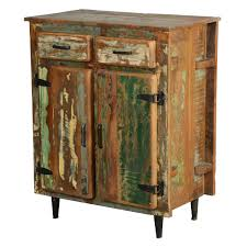 Wood Utility Cabinet Appalachian Rustic Painted Old Wood Standing Kitchen Utility Cabinet