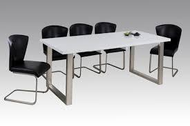 150 190x90 Küchentisch Esstisch Tisch Ausziehbar R4130 11 Hochglanz Weiß