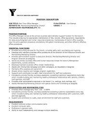 office manager sample job description job responsibilities office manager yun56 co templates general hotel