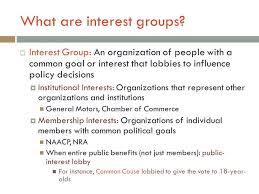 What Are Interests Interest Groups And The Bureaucracy Ppt Video Online Download