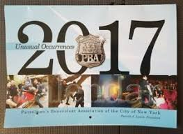 image is loading 2017 nypd pba wall calendar new york city  on new york in art wall calendar 2017 with 2017 nypd pba wall calendar new york city police patrolmen s
