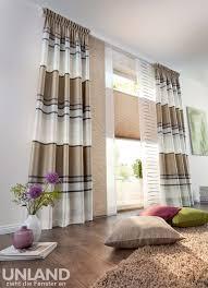 Unland Linares Cappuccino Vorhang Fensterideen Gardinen Und Von