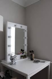 vanity mirror with lights around it. hollywood glamour mirror with light bulbs around edge vanity lights it