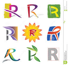 Decorative Letters Set Of Decorative Letters R Icons And Elements Royalty Free