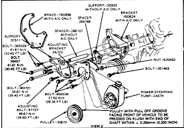 1985 ford f150 engine diagram 1985 auto wiring diagram database 1985 ford f250 the power steering pump compressor v8 diagram on 1985 ford f150 engine diagram