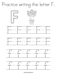 letter f color pages practice writing the letter f coloring page twisty noodle