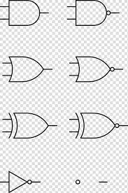 Transparent Venn Diagram Logic Gate And Gate Venn Diagram Digital Circuit Board