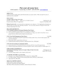 Faculty Resume Format Resume Format