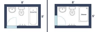bathroom dimensions. Simple Dimensions 40 Sq Ft Bath On Bathroom Dimensions R
