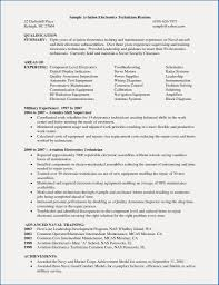 8 Resume Objective Examples Maintenance Supervisor Resume Collection