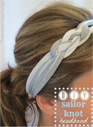 diy sailor knot headband knotted headband ribbons