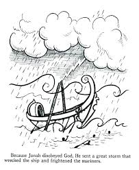 And The Whale Coloring Page Also Pages Bible Story Printable And The
